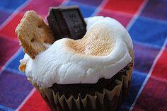 Smore' Cupcakes