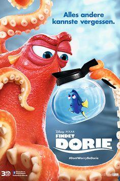In FINDET DORIE macht sich die Paletten-Doktorfisch-Dame gemeinsam mit Nemo und Marlin auf die Suche nach ihren Wurzeln.