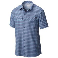 Silver Ridge Multi Plaid S/S Shirt S Shirt, Columbia, Button Down Shirt, Men Casual, Plaid, Silver, Mens Tops, Fashion, Gingham