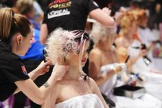 Check out the Hair and Beauty Hairworld 2014 highlights at salonmagazine.ca #hairworld #stylists