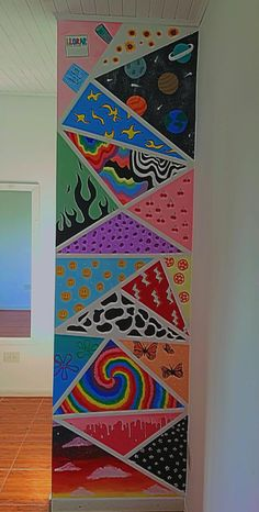 Indie Bedroom, Indie Room Decor, Cute Bedroom Decor, Room Design Bedroom, Aesthetic Room Decor, Bedroom Art, Room Ideas Bedroom, Simple Canvas Paintings, Small Canvas Art