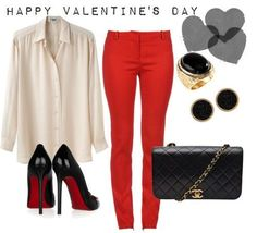 Top 14 Red Valentine Date Night Outfit For Girl – Famous Fashion Design For Spring - Homemade Ideas (13)