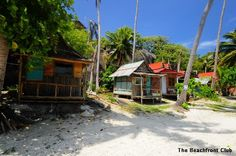 Basic traditional bungalows on shores of Leela Beach. Leela Beach Bungalows are located in the Island of Koh Phangan, in the south east point on Cape Had Rin where Koh Phangan lighthouse is located. It features tropical climate, lush vegetation, beautiful rocks and pristine beaches. #beaches #nature #beautiful #kohphangan #thailand