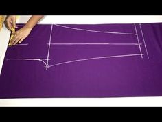 New Fashion Ladies Pants (Cigarette Palazzo) cutting and stitching - YouTube