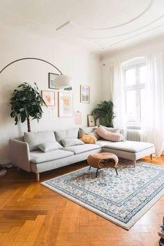 Boho Living Room, Modern Living Room, Minimalist Living Room, Small Living Room, Living Room Sets, Living Room Paint, Rooms Home Decor, Living Room Furniture, Room Decor