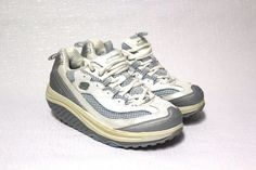 Skechers Shape-ups 11803 Gray/blue Walking Shoe Sneakers US EUR