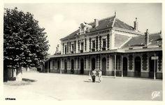La Gare de Biarritz-La Négresse côté cour
