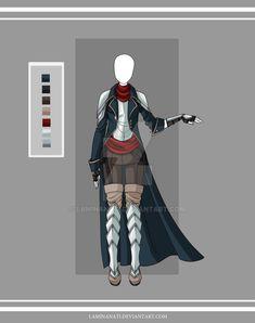 Adoptable outfit 19(closed) by LaminaNati.deviantart.com on @DeviantArt