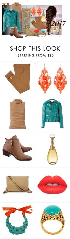 """""""Fresh, Warm, Clean for 2017"""" by encinomom on Polyvore featuring Diverso, Amrita Singh, Exclusive for Intermix, Golden Goose, Christian Dior, Luana, Lime Crime and Liberty"""