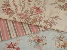 Faded Vintage French fabrics