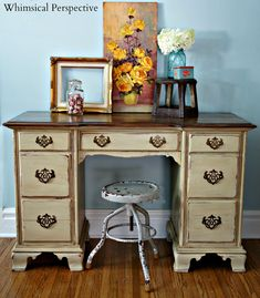 Whimsical Perspective: A Whimsical Makeover: The Unique Desk Edition