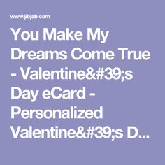 personalized valentines day ecards