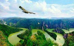 Morava river, Serbia
