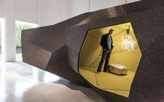 Espace futur la Rock Chamber par Arik Levy