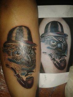tattoo baykuş dövmesi owl tattoo