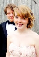 My gorgeous sister and her very photogenic prom date :) PROM2014