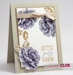 Stampin Up Stippled Blossoms Perfect Pennants Wimpeleien from www.stampinclub.de