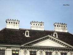 PhotoWien by RLeeb, Chimneys in the Old City Center of Vienna, Austria.