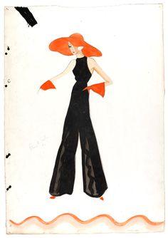 Fashion design, London 1934-5 byVictor Stiebel