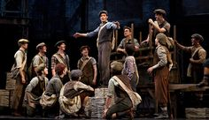 Limited Broadway Run for Disney's 'Newsies'----I am now listening to The Newsies Soundtrack; aka the soundtrack of my Seventh Grade.
