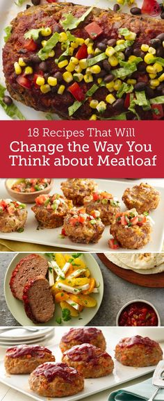 Kick old-fashioned meatloaf to the curb and try one of these brilliant upgrades! From buffalo chicken or mozzarella-stuffed to barbecue bacon mini loaves made in a muffin-tin, these aren't your grandma's meatloaf recipes!