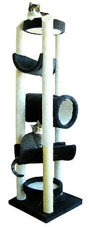 handmade cat tower #cattower callie girl would love this!