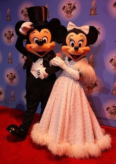 Red Carpet Mickey & Minnie