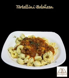 Tortellini Boloñesa