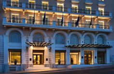 Athens' Historic King George Hotel Goes to Lampsa SA