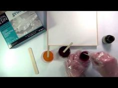 HOW TO Pébéo Vitrail & Fantasy Prisme - Red - YouTube