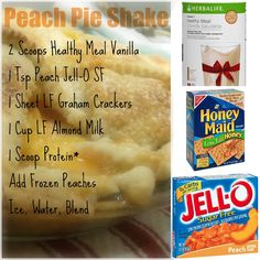 Peach Pie Shake - Herbalife Shake recipe! Must try this! Herbalife Independent Distributor: Lauren Yarbrough! Email: Herbalife.with.lauren@hotmail.com Facebook: www.facebook.com/laurenyarbrough11