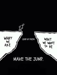 Taking Personal Leadership is a leap!