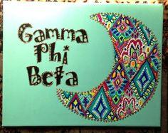 gamma phi beta canvas - Google Search