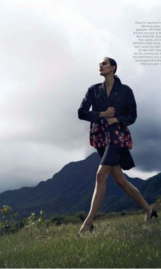 Aymeline Valade by Nathaniel Goldberg for Harper's Bazaar US | Fashion Photography | Editorial