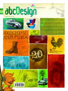 Capa da edição 20 da Revista abcDesign