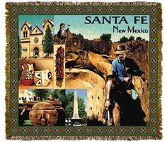 Santa Fe New Mexico Tapestry