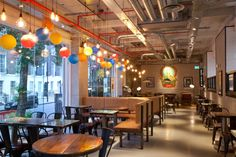 Leon restaurant by rpa:group, London – UK