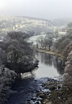 wharfedale, north yorkshire, england | nature + landscape photography #waterscape