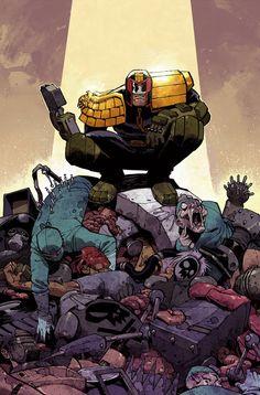 Judge Dredd cover #7 by nelsondaniel on deviantART