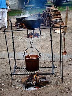 adj. hanging grill