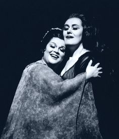 Joan Sutherland and Marilyn Horne, Norma. The Metropolitan Opera, 1973.