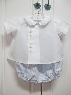 The coordinating diaper shirt