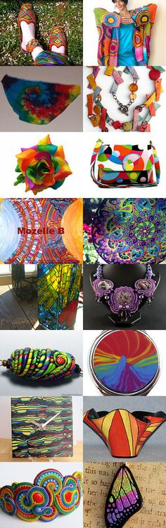 #Color Blast by MaryClaire on Etsy #rainbow