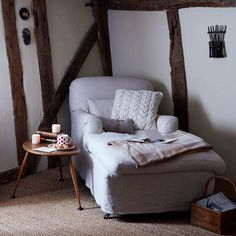 Armchair Christmas country cottage | Christmas decorating ideas | PHOTO GALLERY | Housetohome.co.uk
