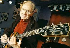 Les Paul with a Les Paul