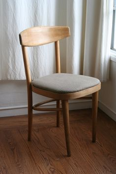Elegant Find This Pin And More On Cafe And Designs. Brown And White Striped Wood  Cafe Chair