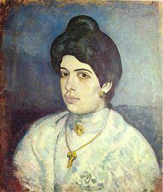 Pablo Picasso - Blue Period  Portrait De Corina Romeu