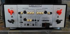 Mark Levinson No585 Integrated Amplifier - Rear View