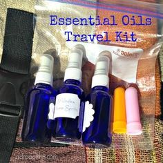 Recently a family member asked me about creating a travel kit to give as a gift for someone who is always on the go - flying and staying in ...