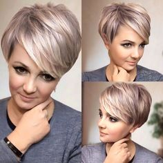 VK is the largest European social network with more than 100 million active users. Short Grey Hair, Short Hair With Layers, Short Hair Cuts For Women, Pixie Haircut For Thick Hair, Thin Hair Haircuts, Pixie Haircuts, Short Layered Haircuts, Choppy Bob Hairstyles, Short Hair Styles Easy